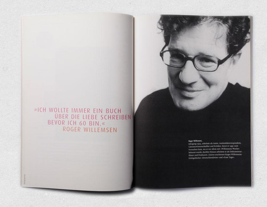 Roger Willemsen · S. Fischer Verlagsvorschau