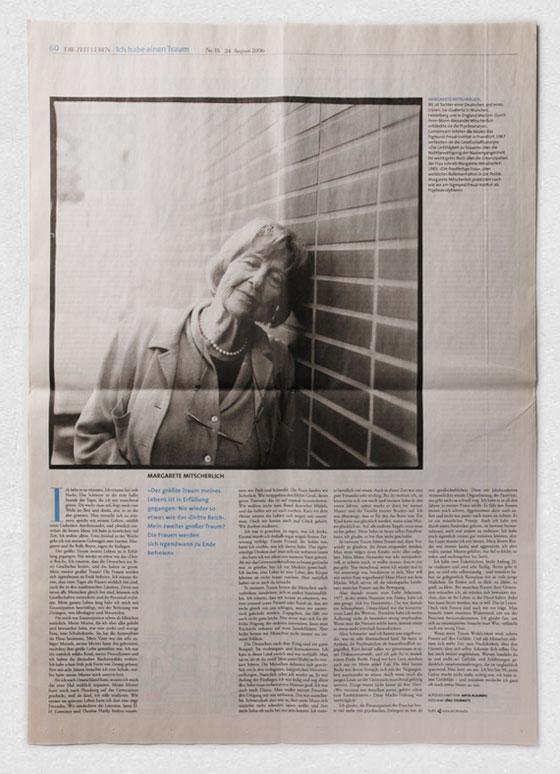 Margarete Mitscherlich · »Ich habe einen Traum« · ZEIT LEBEN