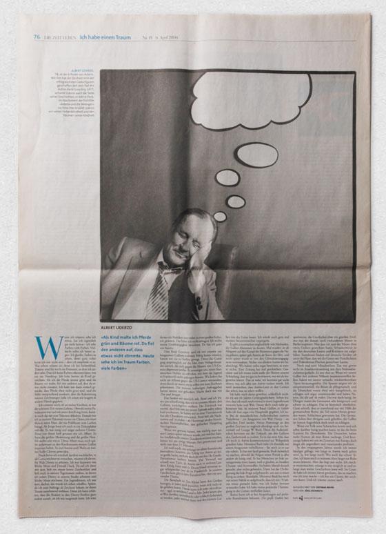 Albert Uderzo · »Ich habe einen Traum« · ZEIT LEBEN